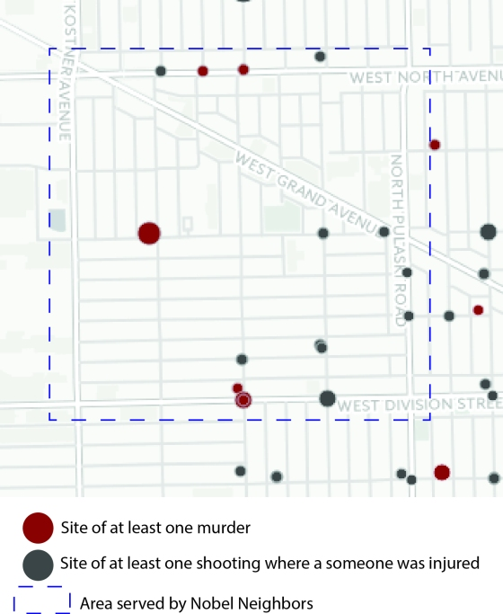 Shootings July 2014 through Jan 2016